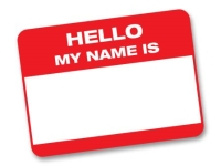 Nametag Sticker