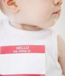 Choosing a Child's Name