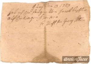 1789 receipt