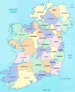 irelandcountiesmap