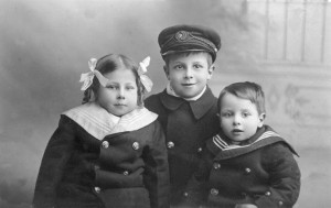 1914-Ethel, Harry,Edwin