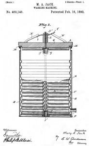 Washing machine patent