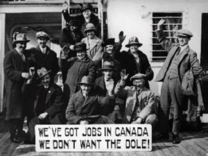 Canadian emigrants