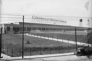 Chev motors in 1928