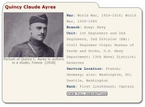 WWI-info card