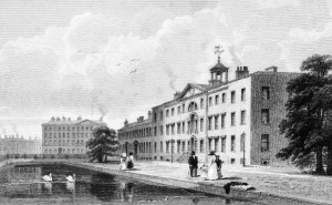 M0018225 The Infirmary, Dispensary and Lunatic Asylum, Manchester, En