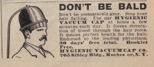 vintage-medical-newspaper-ads-baldnessVintage Newspaper Ads