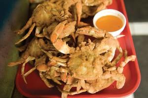 MD softshell crabs