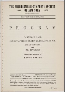 Music-orchestra program