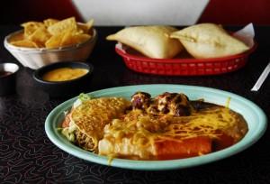 NM -tacos and enchiladas