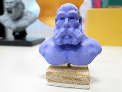 3D printed bust