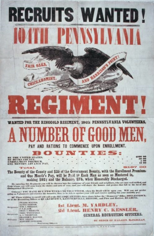Look up about your PA Civil War soldiers    FamilyTree com