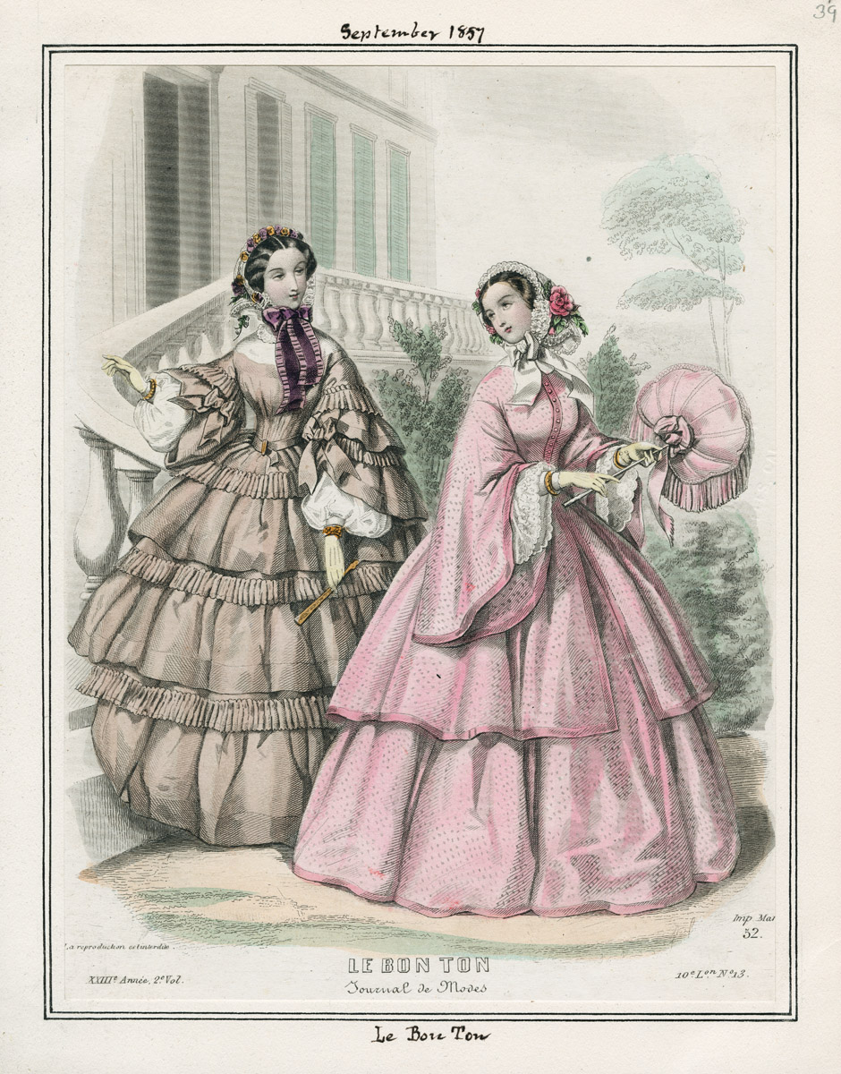 Fashions And Life For Women Of 1850s 1860s Familytree Com