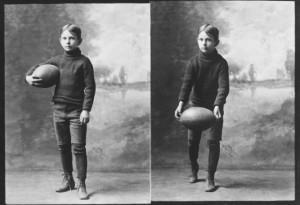 McKnight with football