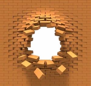 10-brick wall