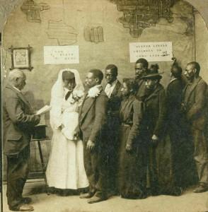 African-1901 wedding