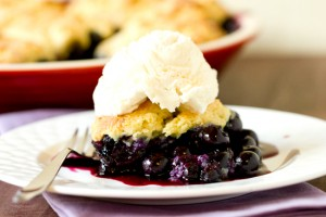 dessert-blueberry-cobbler