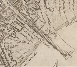 Boston - Long Wharf map