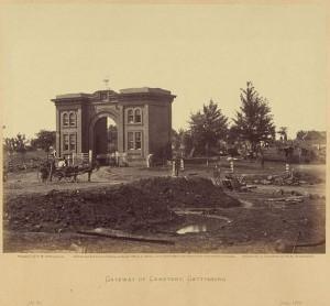 CW-gateway to Gettysburg Cemetery
