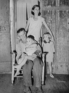 Photos-Louisana family -1938