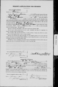 NC - widow-Briggs_William_W_Wilson_County-