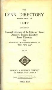 directory-Lynn 1917