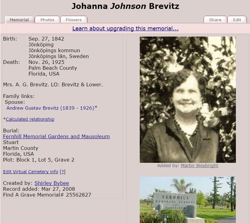 Find A Grave | FamilyTree com