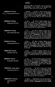 Will -1888-Kershaw