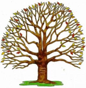 family tree bare