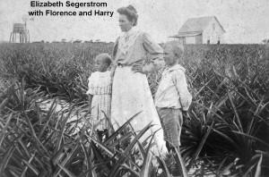 land- Elizabeth Segerstrom-children