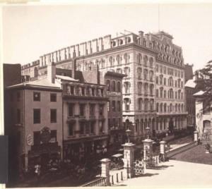 Boston-Parker House -School 1890