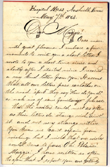Civil War Writings Letters Home