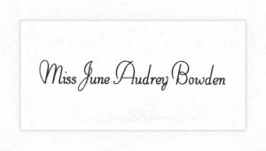 Card-Grad - Bowden,J