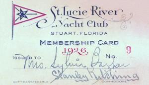 Card,St LucieYachtClub-1926