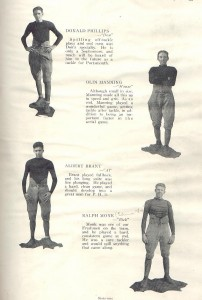 Fred- Ohio 1922 football