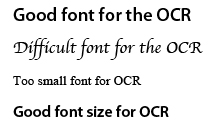 OCR-font-samples