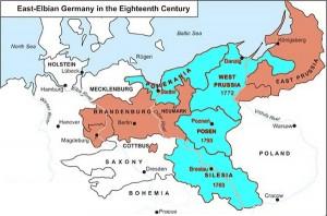 Posen Prussia map
