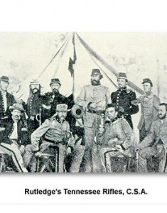 TN-Rutledge's Tenn Rifles, CSA