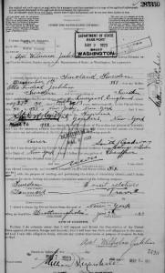 passport-1923-Axel Wilhelm Juhlin