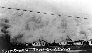 weather-Dust Storm Boise City