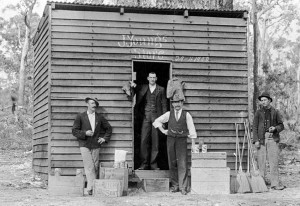 Australia - Young's store in 1900