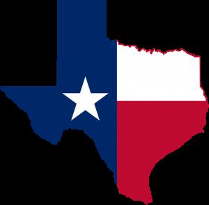 Texas--map