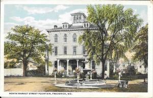 postcard -Groff House-1920s