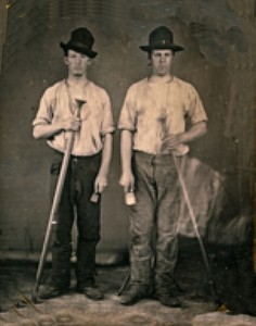 JOBS- men worker-1850s