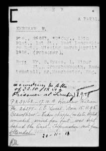 WW I--William Kershaw