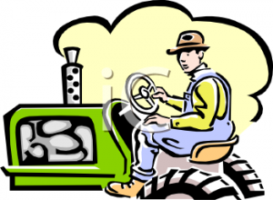 farmer-tractor