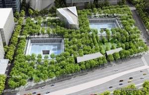 911 ground zero-aerial
