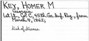 Conf-Key, Homer-disease 1862