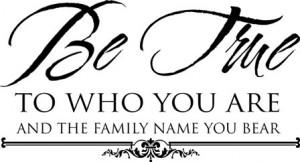 surname-be true