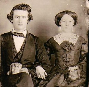 weddings- John Ely & Mary Lane-1856